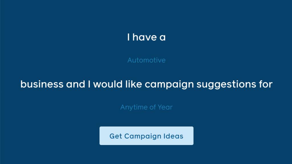 Aprende utilizar el generador de ideas para campañas de Facebook